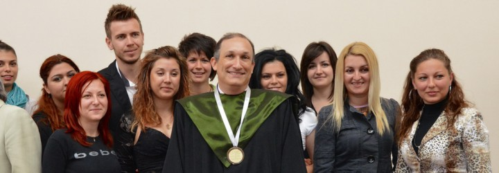 Professor J. Scott Yaruss, Ph.D., Fulbright Specialist to the South-West University, 2012