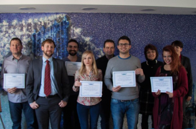 The first class of PMP®/CAPM® trainees