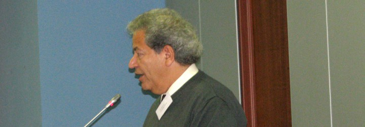 Professor Farouk Seif, Ph.D., Fulbright Specialist to Sofia University, 2010